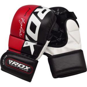 RDX MMA Sparringhandskar T6 Rod 6