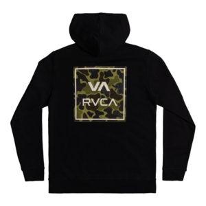 RVCA Hoodie All The Way black camo 2