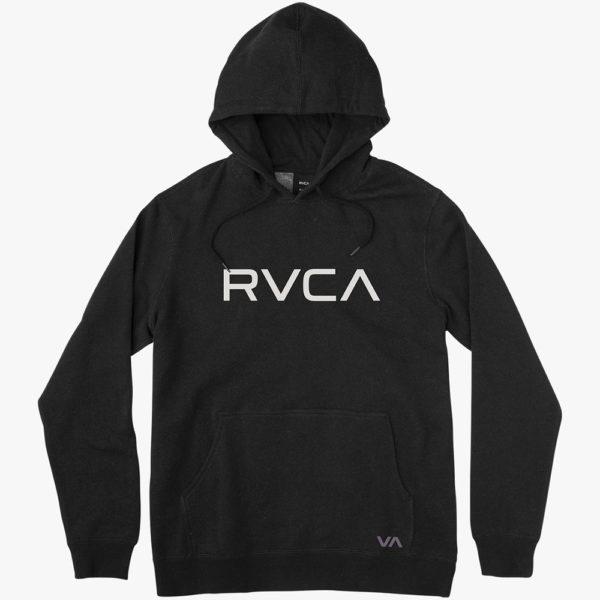 RVCA Hoodie Big Logo svart 1