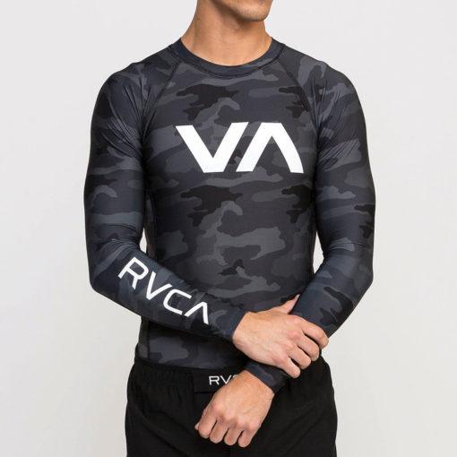 RVCA Rashguard 2020 camo