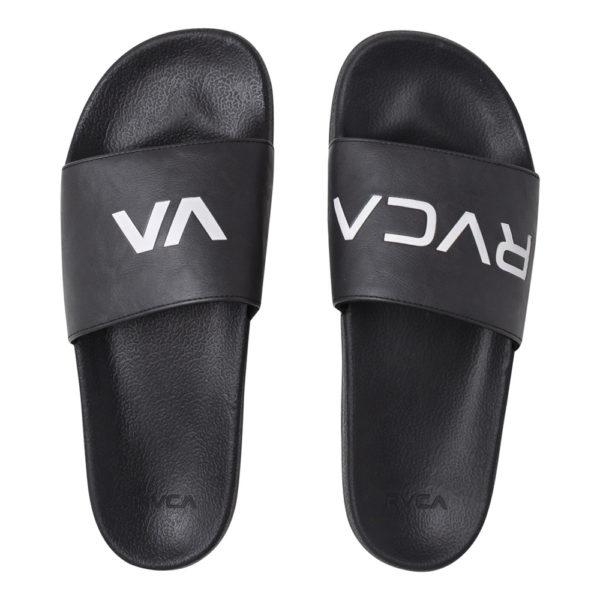 RVCA Slides svartvit