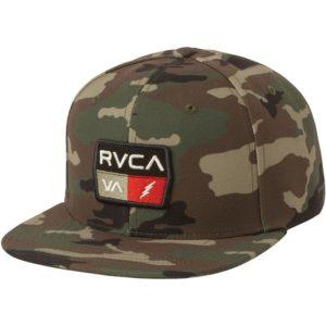 RVCA Snapback 9VOLT camo 1