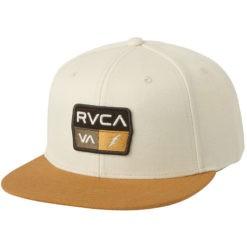 RVCA Snapback 9VOLT vit 1