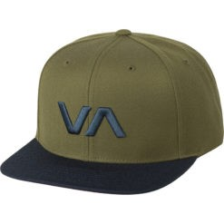 RVCA Snapback II army