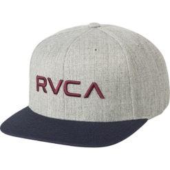 RVCA Snapback Twill III ljusgra 1