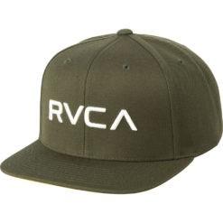 RVCA Snapback Twill III olivgron