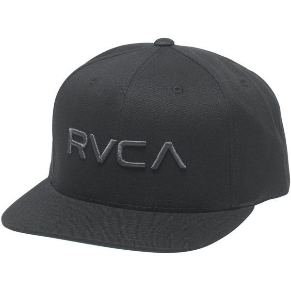 RVCA Snapback Twill III svart svart
