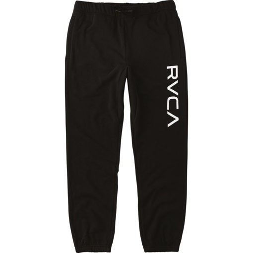 RVCA Sweatpants Big Logo svart 1