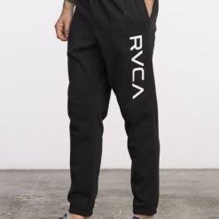 RVCA Sweatpants Big Logo svart 2