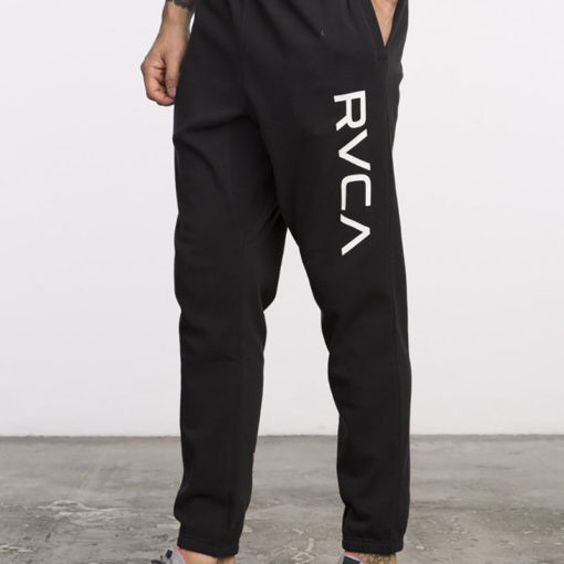 RVCA Sweatpants Big Logo svart 2