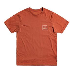 RVCA T shirt All The Way terracota 2