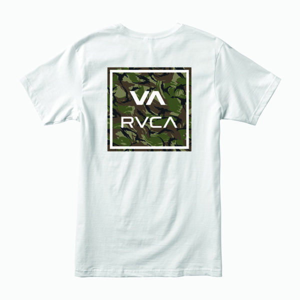 RVCA T shirt All The Way vit 2