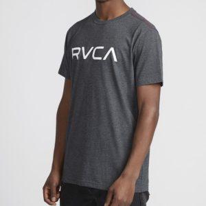 RVCA T shirt Big Logo charcoal 2