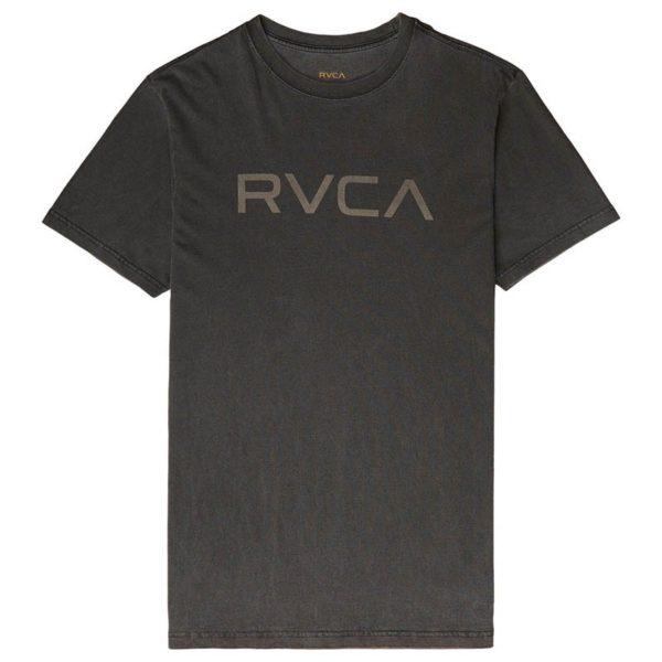 RVCA T shirt Big Logo morkgra 1