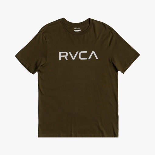RVCA T shirt Big Logo sequoia