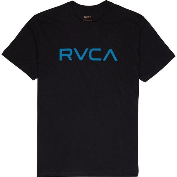 RVCA T shirt Big logo svart bla 1