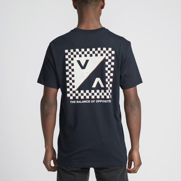 RVCA T shirt Check Mate 2