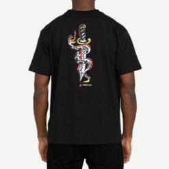 RVCA T shirt Krak Daggers 2