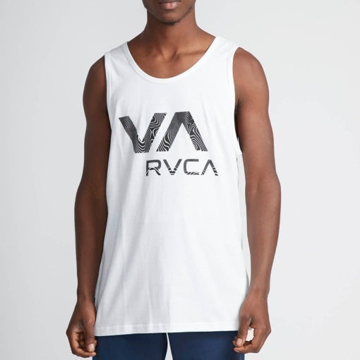 RVCA Tank vit 1