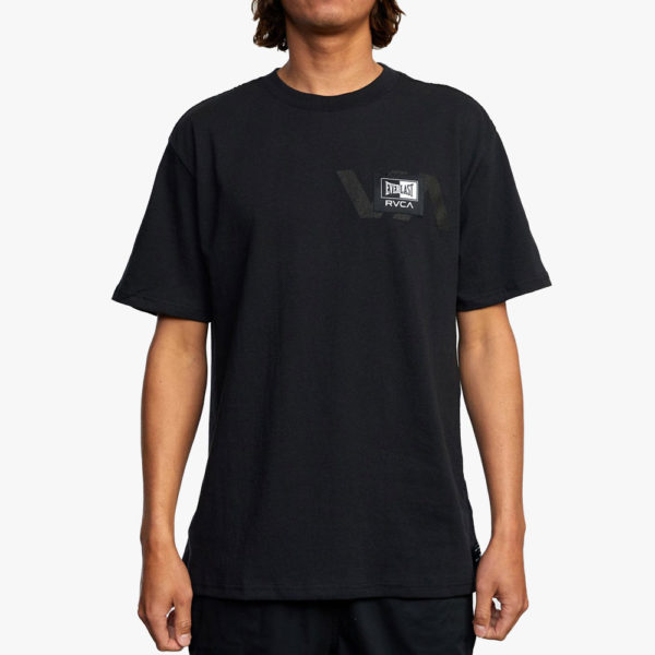 RVCA x Everlast T shirt Stack Patch 3