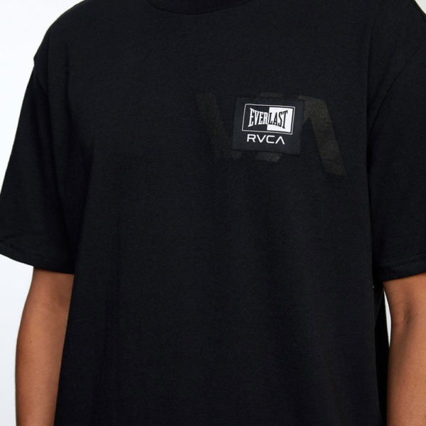 RVCA x Everlast T shirt Stack Patch 5