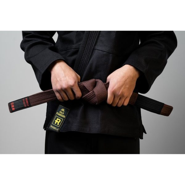 Rebelz BJJ Ballte Premium brun 1