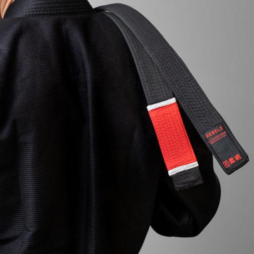 Rebelz BJJ Ballte Premium svart instruktor 2