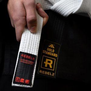 Rebelz BJJ Ballte Premium vit 2