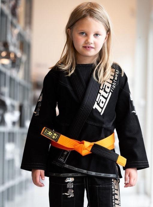 Rebelz BJJ Balte Kids orange 1