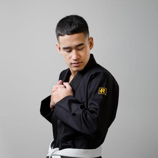 Rebelz BJJ Gi Gold Standard svart 7