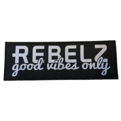 Rebelz Patch Good Vibes Only 1