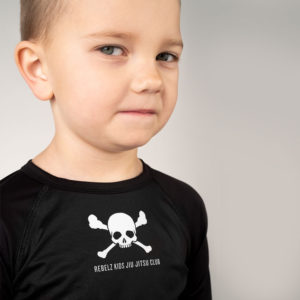 Rebelz Rashguard Kids Jiu Jitsu Club 3