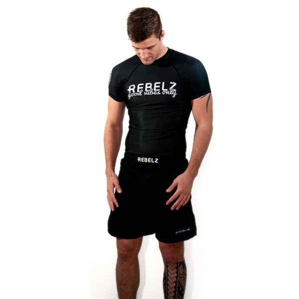 Rebelz Rashguard Shorts Good Vibes Only 1a