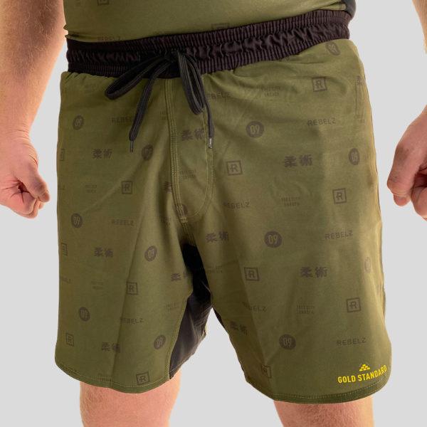 Rebelz Shorts Gold Standard 1