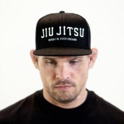 Rebelz Snapback Jiu Jitsu Svart 1