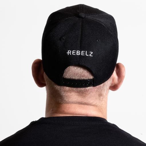 Rebelz Snapback Jiu Jitsu Svart 2