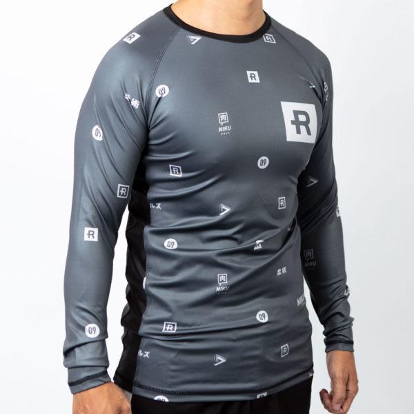 Rebelz x Niku Rashguard Dark Logos 3