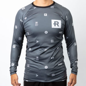 Rebelz x Niku Rashguard Dark Logos 4