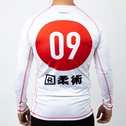 Rebelz x Niku Rashguard Nihon 2