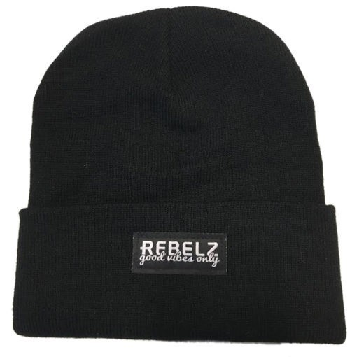 Rebelz Beanie Good Vibes Only 1
