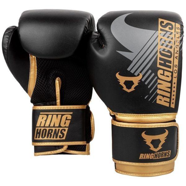 Ringhorms Boxningshandskar Charger MX svart guld 2