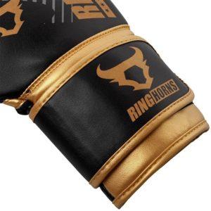 Ringhorms Boxningshandskar Charger MX svart guld 3