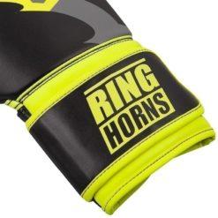 Ringhorns Boxningshandskar Charger svart neon gul 4
