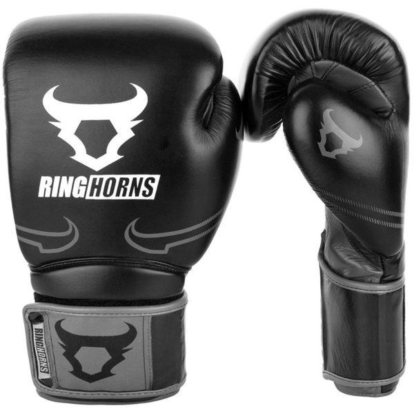 Ringhorns Boxningshandskar Destroyer svart gra 1