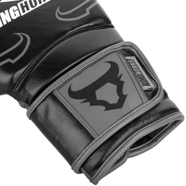Ringhorns Boxningshandskar Destroyer svart gra 4