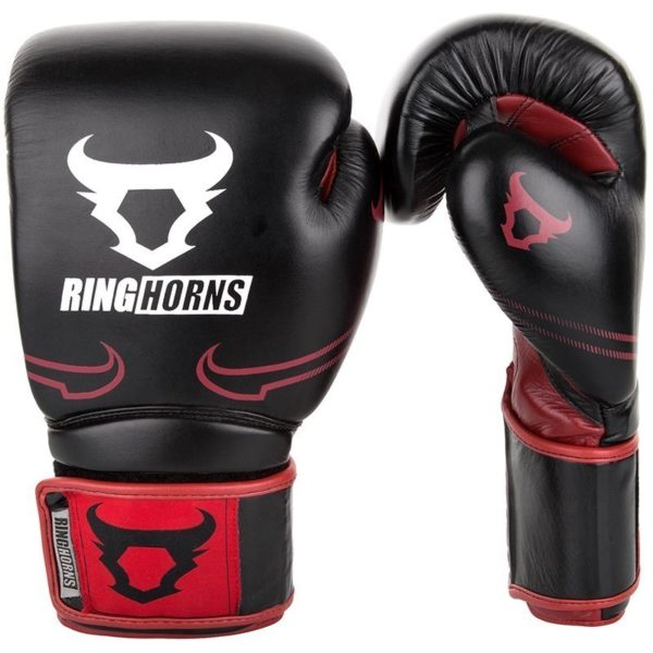 Ringhorns Boxningshandskar Destroyer svart rod 1