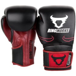 Ringhorns Boxningshandskar Destroyer svart rod 2