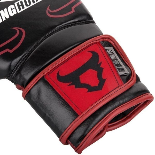 Ringhorns Boxningshandskar Destroyer svart rod 4