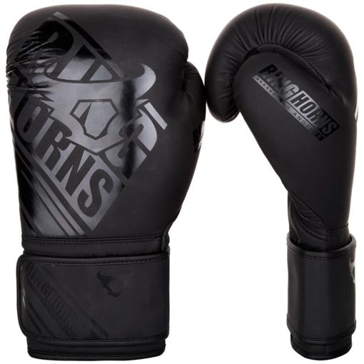 Ringhorns Boxningshandskar Nitro svart svart 1