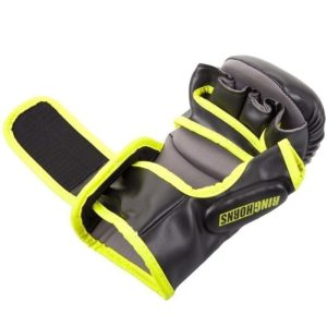 Ringhorns MMA Sparrainghandskar svart neongul 4